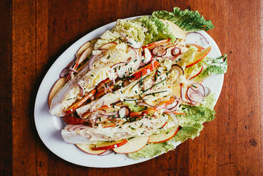 napa cabbage wedge salad